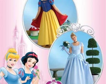 Sewing Pattern Simplicity 2813-Cinderella and Snow White-Size 6-12