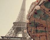 Eiffel Tower Carousel, Paris Photo, Paris Art, Eiffel Tower Photo, Paris Decor, Architecture Art, Architecture Photo, Carousel photo