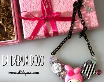 Deco Pink my Melody Necklace one and only!