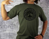 tree of life tshirt . gifts for hippies . mens tshirt