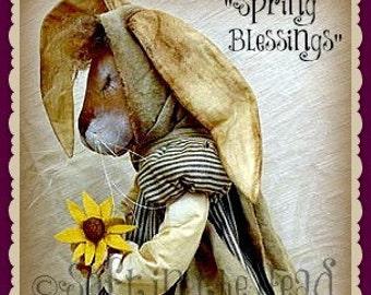 Spring Blessings E-Pattern