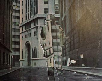 City Man - old record album cover collage [ vintage lp vinyl ]