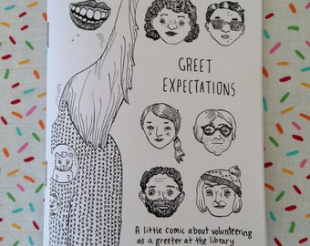 Greet Expectations - Mini-comic