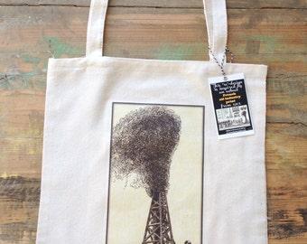 1905 Oil Industry image tote bag