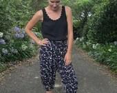 Freestyle Harem Pants & Capris for Women (XS-5X) Downloadable .PDF Sewing Pattern