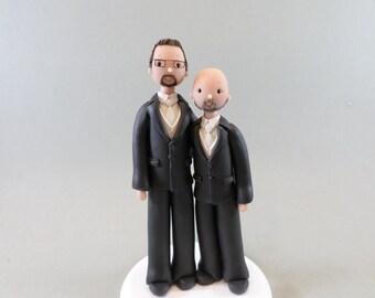 Cake Topper Customized Same Sex Wedding Gay Couple LGBT