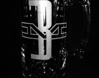 Boston And Maine 25 Ounce Beer Mug