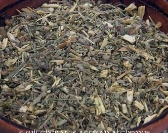 EUROPEAN WORMWOOD (Artemisia absinthum) Certified Organic Earth Kosher for Rituals Involving Calling Spirits, Protection Against Bewitchment