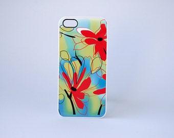Floral Phone Case, Floral iPhone Case, Bold Neon iPhone 5, 5s, 5c, 6, 6s, 6 Plus, 6s Plus Case, unique iphone cases, floral phone case