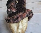 Steampunk topper hat