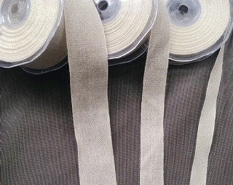 Bookbinders linen tape, in five widths