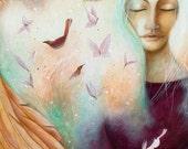 Archangel Uriel by Amanda Clark.