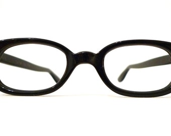 Vintage 60s NOS Mod Cat Eye Frames On Sale. Eyeglasses Sunglasses/ Horn Rims / Librarian Chic