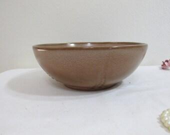 Frankoma Serving Bowl Desert Sand