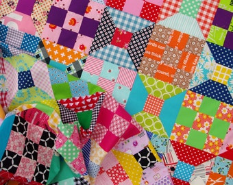 Spool Block - Traditional Quilt Block - Templates