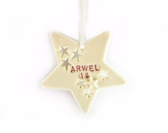 Star Gift Tag, 18th Birthday Gift, Custom Birthday Tags, personalised gifts 16th, 21st, 30th, 40th, Milestone Card Alternative