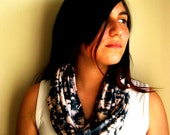 BLACK FRIDAY - BLUE Infinity Scarf, blue scarf, mauve, boho scarf, spring scarf, for her, women accessories, gift idea, chic