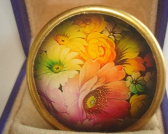 Wild Flower Garden Brooch