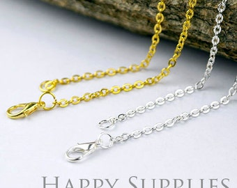 "10pcs High Quality 18"" Long Chain Necklace (W167)"