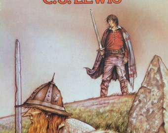 1981 Prince Caspian NARNIA Series by CS LEWIS Penguin Puffin Book