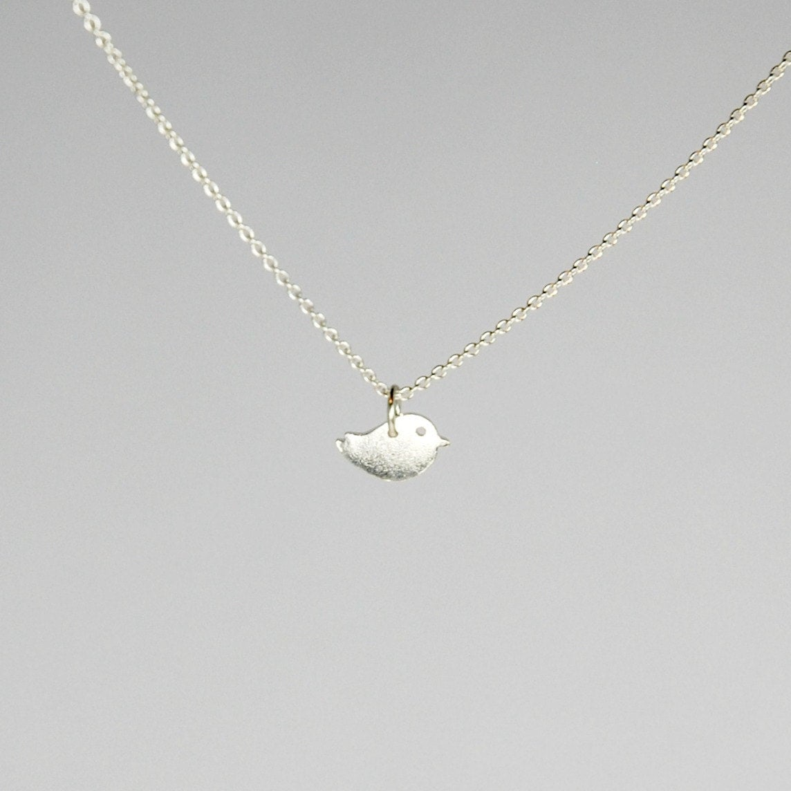 silver bird necklace sterling silver pendant new