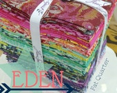 Fat Quarter Fabric Bundle of Eden by Tula Pink for Free Spirit Fabrics (Full Collection- 25 pieces ships Sept 2015)