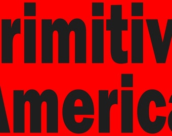 PRIMITIVE AMERICA STENCIL Make Your Own Primitive Signs Primitive Americana Patriotic Word Stencil Hafair