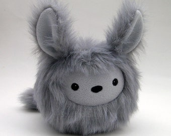 Baby Monster Bunny, Samuel - Stuffed Animal Plush Toy - Stuffed Silly