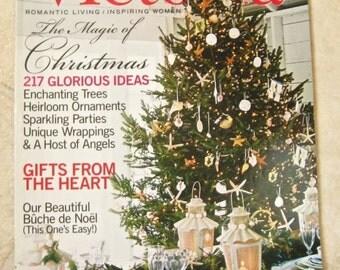 Victoria Magazine One Issues of 2002 Good Housekeeping Christmas Scrapbook Embellishment