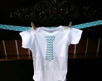 Boy's Tie shirt,boys chevron tie shirt,boys tie tee,chevron tie tee,baby shower present,baby shower gift,baby shower shirt,chevron tie shirt