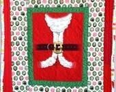 "Baby Santa Quilt, 37"" X 44"""