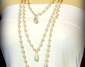 Necklace with Three Elegant Strands of Pearls