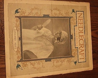 Antique Needlecraft Magazine