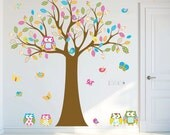 Wall decals nursery - Nursery wall decal - Tree decal - Children Wall decal - Nursery Tree Vinyl Decal - Nursery decals - nursery