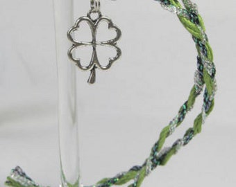 SALE! Wine Charms Wine Accessories Wine Lover Wine Bottle Shamrock Irish Gift pandora