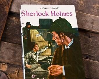 1955 SHERLOCK HOLMES Vintage Notebook Journal