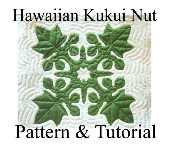 Hawaiian Quilt Block Kukui Nut Candlenut Pattern : hawaiian quilting patterns - Adamdwight.com