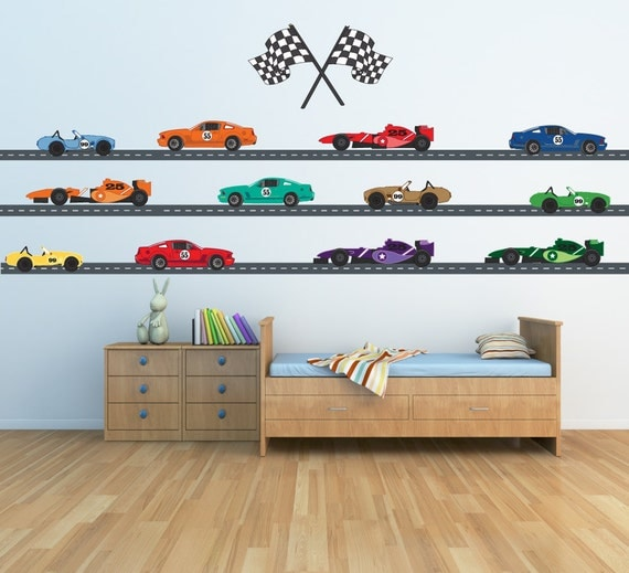 course voiture stickers 24 pieds chauss e autocollant. Black Bedroom Furniture Sets. Home Design Ideas