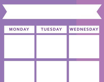Radiant Orchid - Monthly