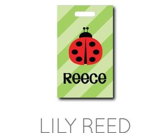 Ladybug...Personalized Luggage Bag Tag