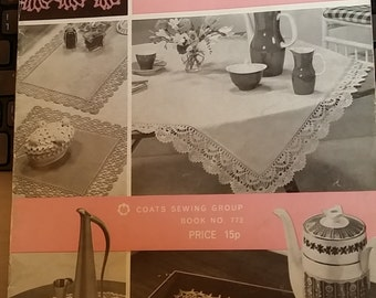 Edgings in Mercer Crochet Patterns 11 Lace Edgings Patterns Vintage Cotton Borders Instructions Digital Instant Download 19 Page Book