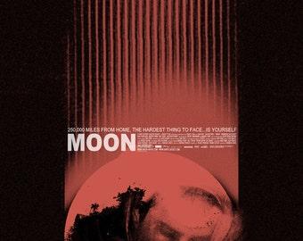 MOON alternative movie poster