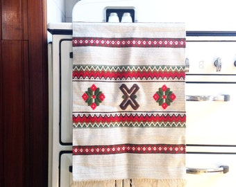 Vintage Swedish Woven Wall Hanging / Rug