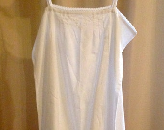 SALE! Vintage French Cotton Night Dress