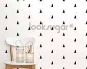 Triangle Wall Decal - Wall Pattern Stickers - AP0007