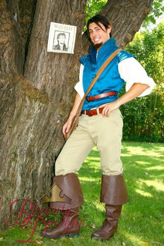 Flynn Rider Adult A Men S Custom Costume Vest Rapunzel