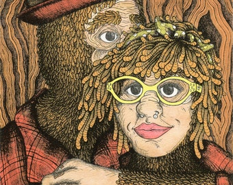 Bigfoot Proposal Print