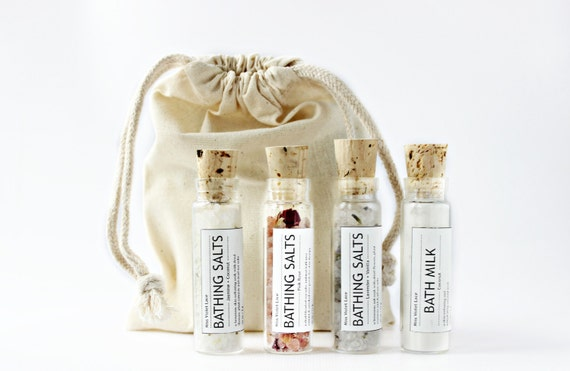 Wedding Gifts For Vegans : ... vegan bath soak set. gifts for her. bridesmaids gifts / wedding gifts