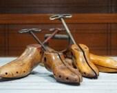 wooden shoe stretchers bundle