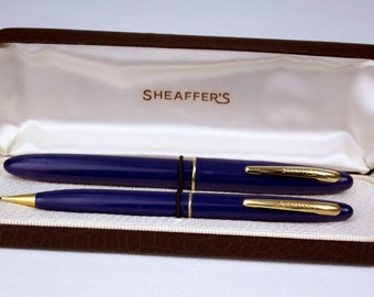 Vintage Sheaffer Balance Fountain Pen and Pencil Set/PRICE REDUCED